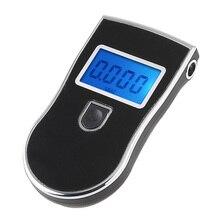 Alcohol Breathalyzer Sensor Fault Self Checking Professional Alcohol Tester Mouthpieces Alcoholmeter Digital Alcohol Meter LCD цена 2017
