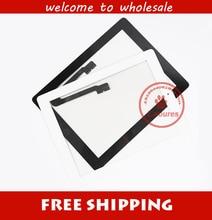 Черный или белый Высокого качества Дигитайзер сенсорный экран для нового IPAD 3 A1416, A1430, A1403 Для ipad4 A1458, A1459, A1460 Свободный Корабль