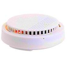 JCWHCAM High sensitivity Wireless Smoke Detector Fire Alarm Sensor for Indoor Home Safety Garden Security