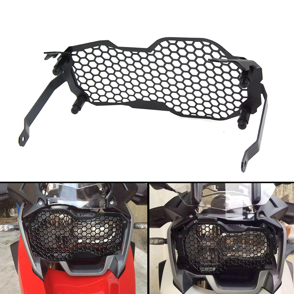 For BMW R1200GS ADV r 1200gs 2013 2014 2015 2016 Motorbike Cover Motorcycle Accessories Headlight Grille Guard Cover Protector motorbike headlight cover protector for bmw r1200gs adv lc 2013 2016 2015 2014