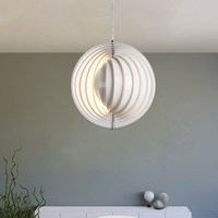 Modern LED Pendant Lights Round Circle Moon hanglamp Verpan Pendant Lamps child Baby Room Lighting E27 luminaria Fixtures
