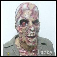 Halloween Cosplay Zombie Demon Full Head Mask Latex Devil Scary Mask Halloween Prank Prop For Costume