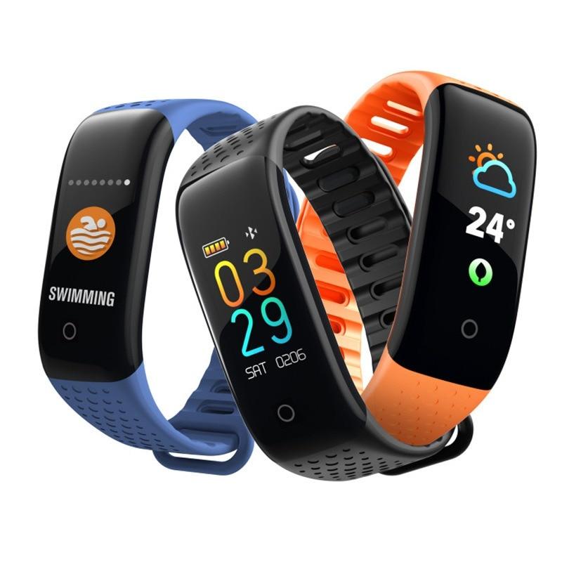Z6 Smart Armband Bloeddruk Monitoring Sport Smart Polsband Ip67 Waterdichte Zwemmen Smart Armband Tafel Band Punctual Timing