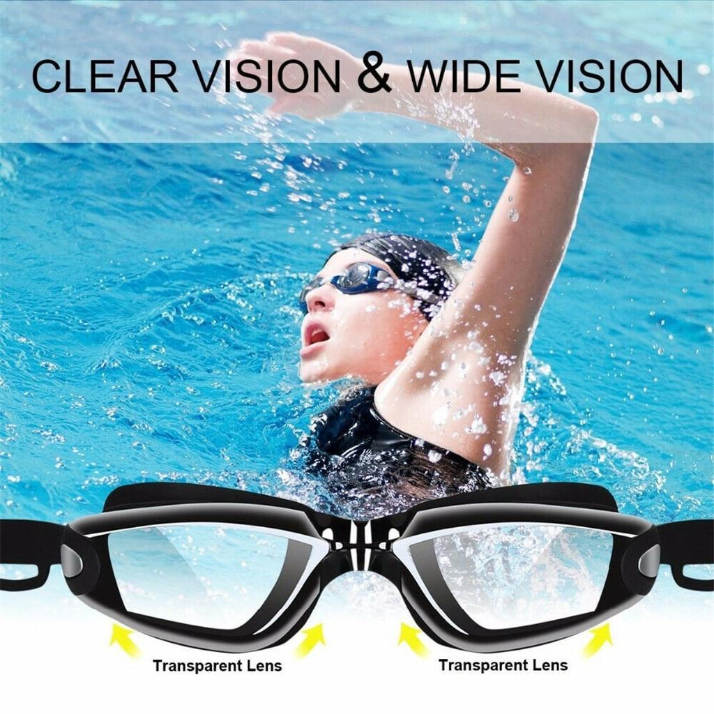 The Elite Professional HD Anti-Fog Swim Goggles