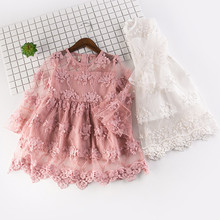 child dress party cute Toddler Kids Baby Girls Embroidery Tulle Party Wedding Pageant Princess Dresses  HOOLER girls summer dresses 2018 kids toddler flower girls lace dress pageant wedding party children bridesmaid princess tulle dress