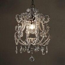 Европа Франция роскошные красивая хрустальная люстра для столовой/гостиной/кухня лампа кристалл освещение люстры