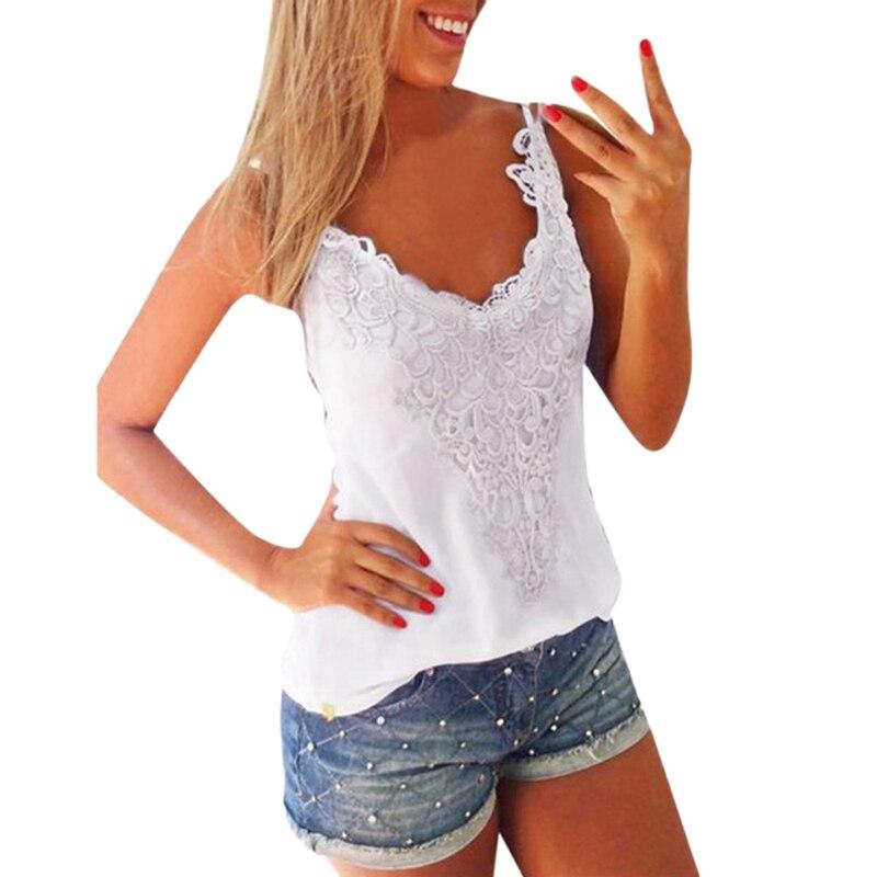 Summer Plus Size Lace   Tops   Women Elastic   Tank     Tops   O-Neck Lace Crochet Vest Slim Sexy Camis Oversize 3XL 4XL 5XL White/Black