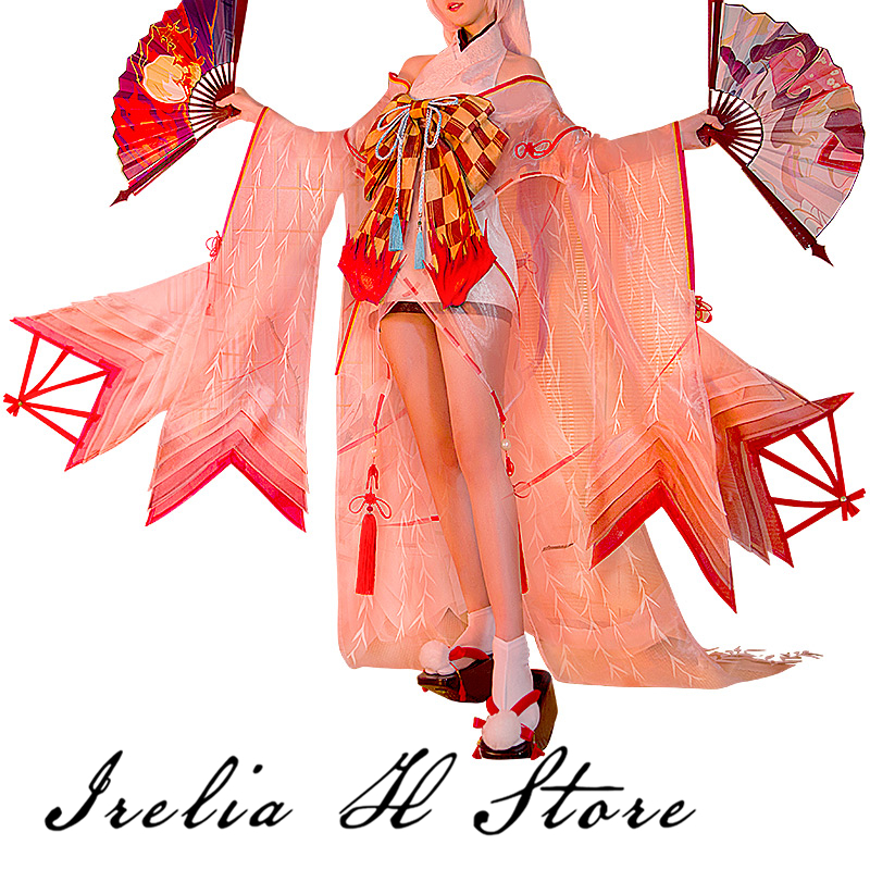 {In stokc} Shiranui Onmyoji SSR Shiranui Diver Ali Kimono Cosplay Costume New sexy Dress Halloween costume gift 1