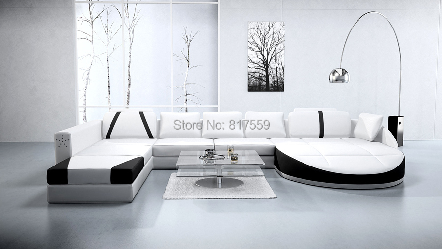 Online Get Cheap White Living Room Furniture Sets With Hall Furniture Design  With Sofa Set.