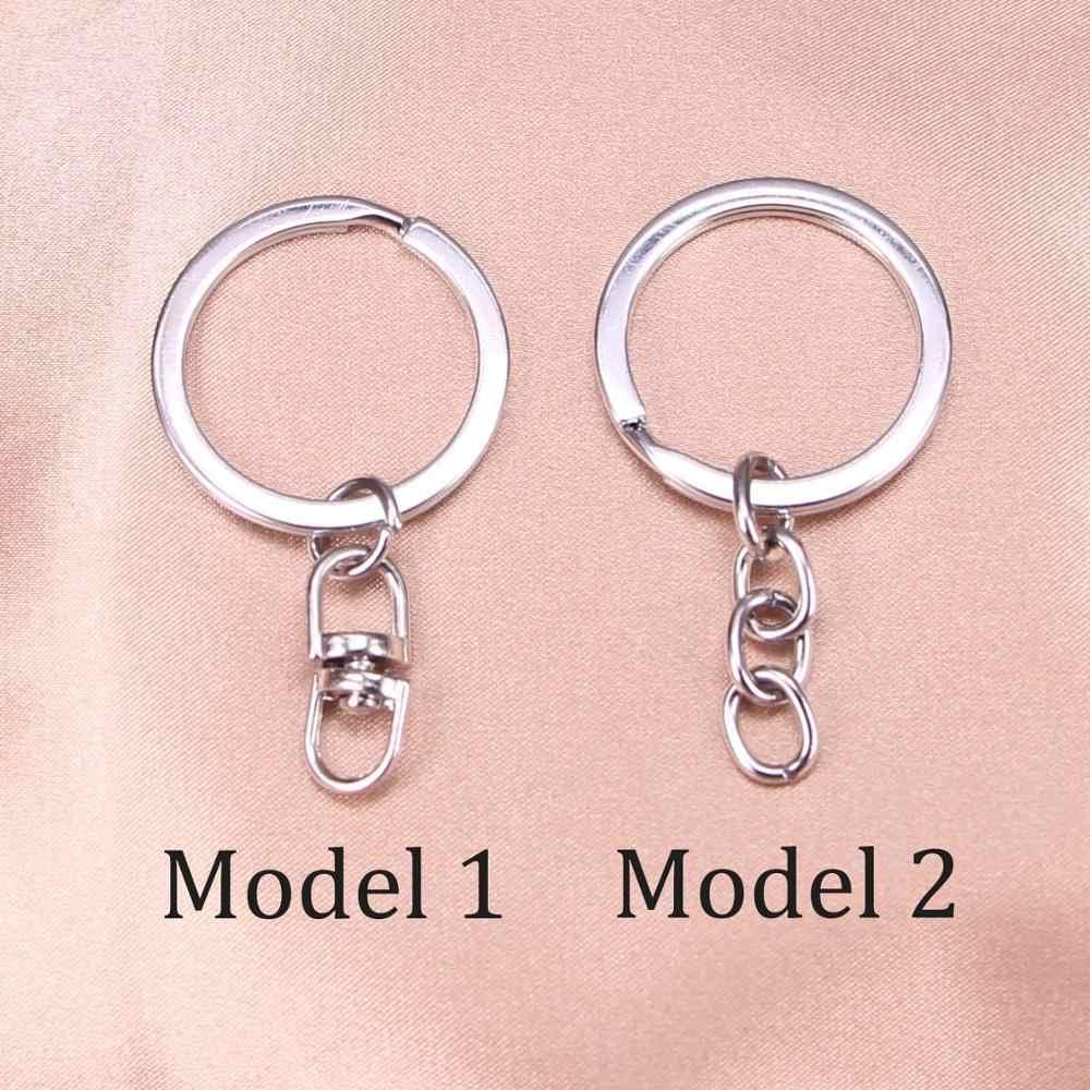 20 sztuk nowa moda brelok 32*19mm hollow, sowa wisiorki DIY mężczyźni biżuteria Car brelok do kluczy pierścień Holder pamiątka na prezent