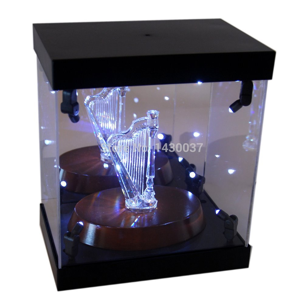 Mb Display Box Acrylic Led Light House For Crystal Harp Snapback Fine Jewelry In Packaging From Accessories On Aliexpress