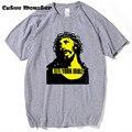 2017 Moda Guns N Roses Camiseta Homens MATAM SEUS ÍDOLOS Jesus Religião 3D T-Shirt de Algodão de Manga Curta Hip Hop T camisa Homme