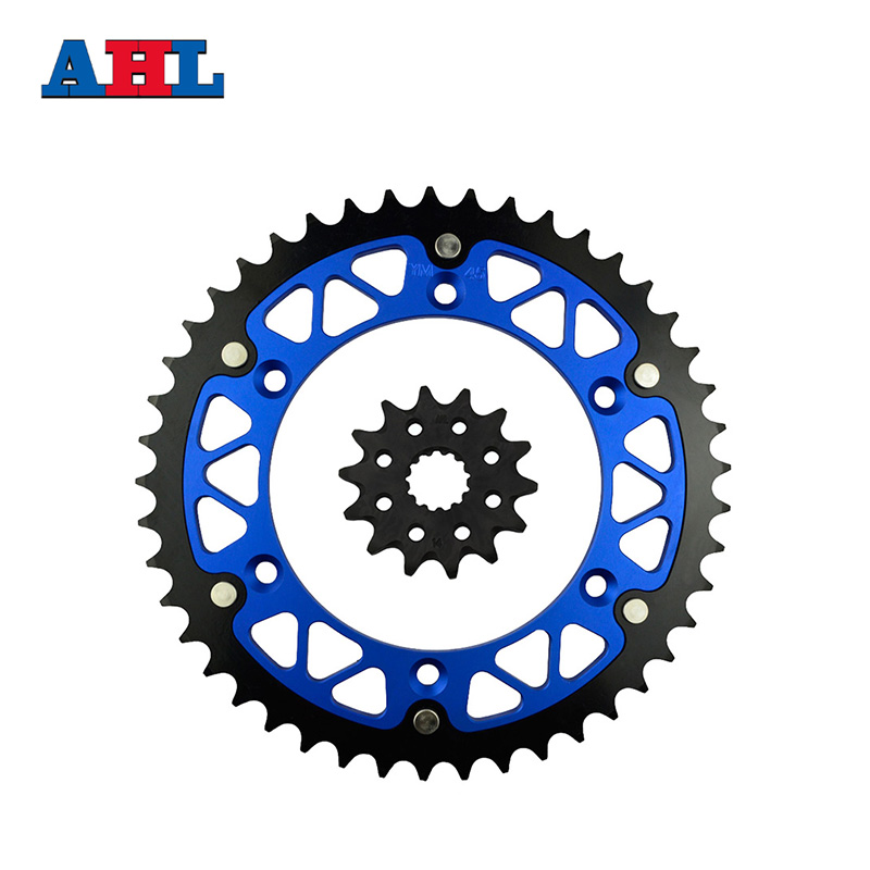 Motorcycle Parts 45-14 T Front & Rear Sprockets Kit For YAMAHA YZ450F YZ 450F YZ450 YZ 450 F 2003-2014 Gear Fit 520 Chain