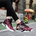 2017 New Arrival Lover's Trendy Casual Shoe  Unisex Printed Lacing Casual  Spring Shoes Platform Outdoor Shoes  Size 35-44