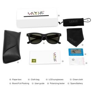 Image 5 - Original Design Sunglasses LCD Polarized Lenses Electronic Transmittance Mannually Adjustable Lenses Sun glasses Vintage Frame