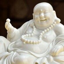 Dai Yutang Dehua ceramic laughing Buddha Maitreya statue decoration idea crafts/leisure