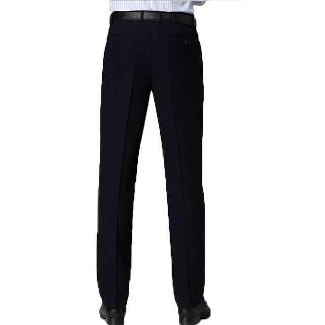 47105166cc7 placeholder Classic Men Black Suit Pants Business Casual Slim Fit Dress  Pants Men Formal Trousers Regular Wedding