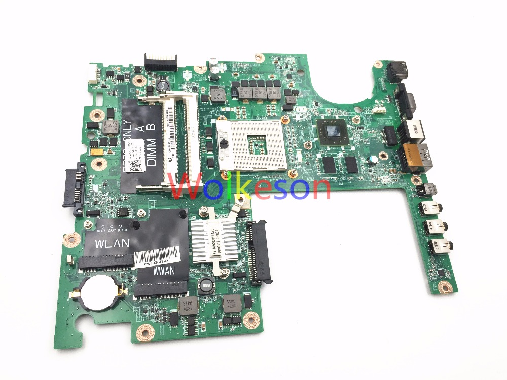 SHELI FOR DELL 1558 Laptop Motherboard CN-0CGY2Y 0CGY2Y CGY2Y DA0FM9MB8D1 HM65 HD4570 GPU DDR3 Test ok