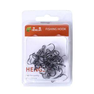 Image 2 - 20 Pcs/Set Fishing Hook Triple Hooks High Carbon Steel Sharp Barbed Tip Tackle Accessories 4#6#8#10#