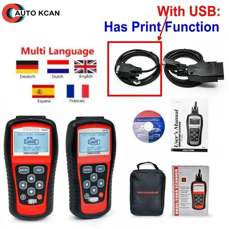 MaxiScan ms509 scanner Car Code Reader MS509 OBDII OBD auto OBD2 Scanner Maxiscan MS509 Automotive Diagnostic