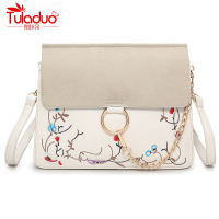 TOLADUO Fashion Women Shoulder Bags Small Embroidery Women Crossbody Bags Luxury Floral Ladies Messenger Bags Mujer