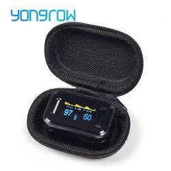 Yongrow Медицинский CE, FDA пальца импульса оксиметр цифровой Пульсоксиметр насыщения крови кислородом монитор здравоохранения Spo2 PR