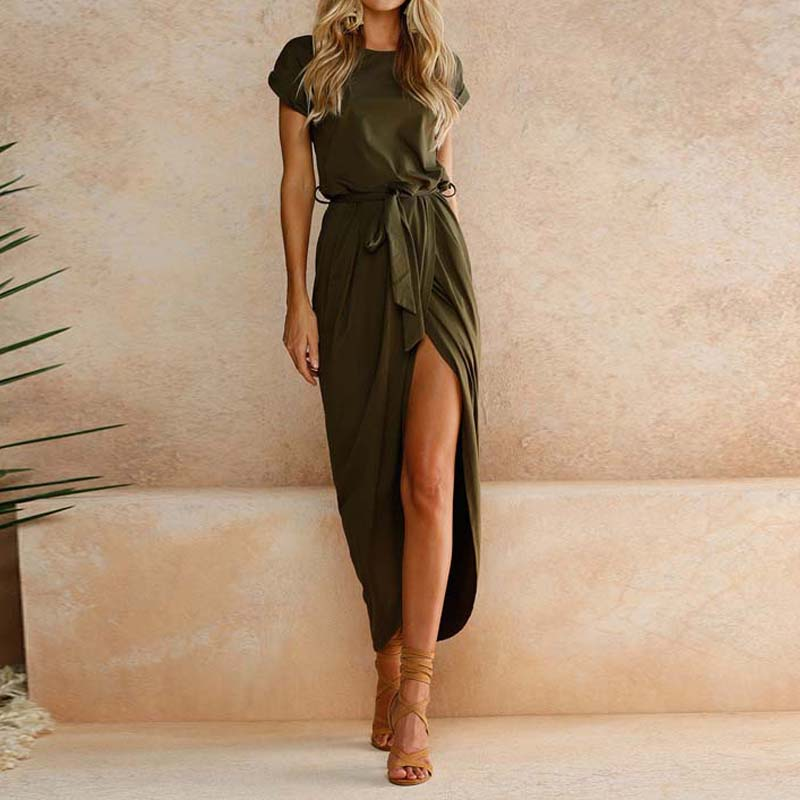 19 Plus Size Party Dresses Women Summer Long Maxi Dress Casual Slim Elegant Dress Bodycon Female Beach Dresses For Women 3xl 8