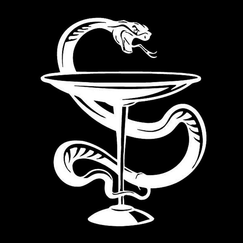Эмблема врачей картинка чаша со змеей