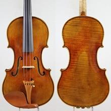 60-y old Spruce!Guarnieri del Gesu 1743The CannonViolin violino Copy!One Pc Back!Concert 4/4 Violin, Top Oil Varnish