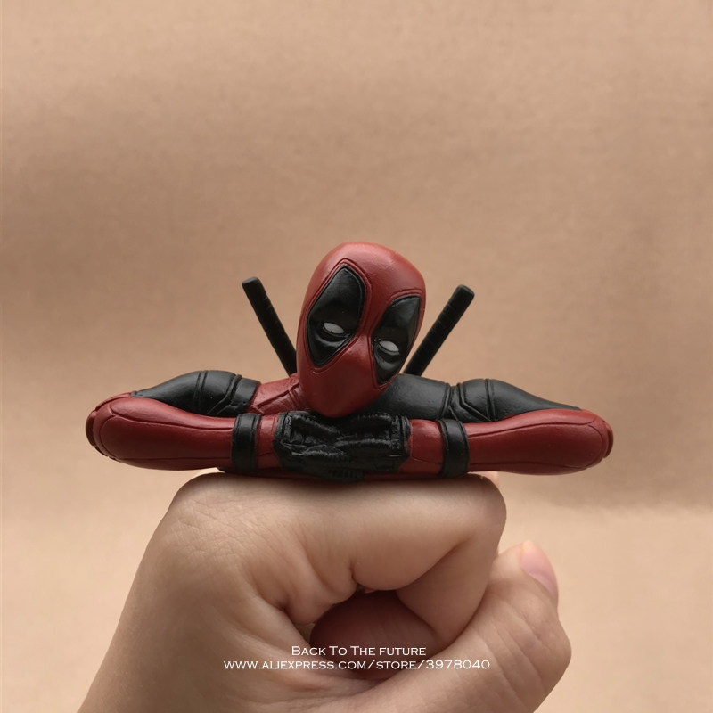 Disney Marvel X-Men Deadpool 2 Action Figure Sitting Posture Model Anime Mini it