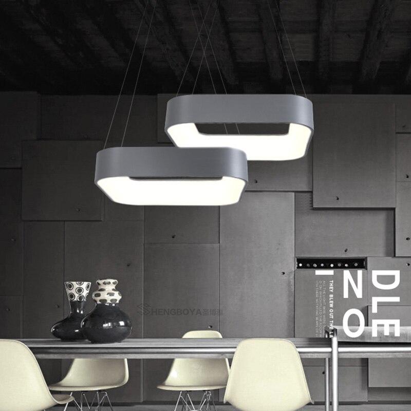 Chaude moderne minimalisme led lampes suspendues lampe salle à manger bar restaurant suspendus luminaire suspendu lampadario moderno appareils