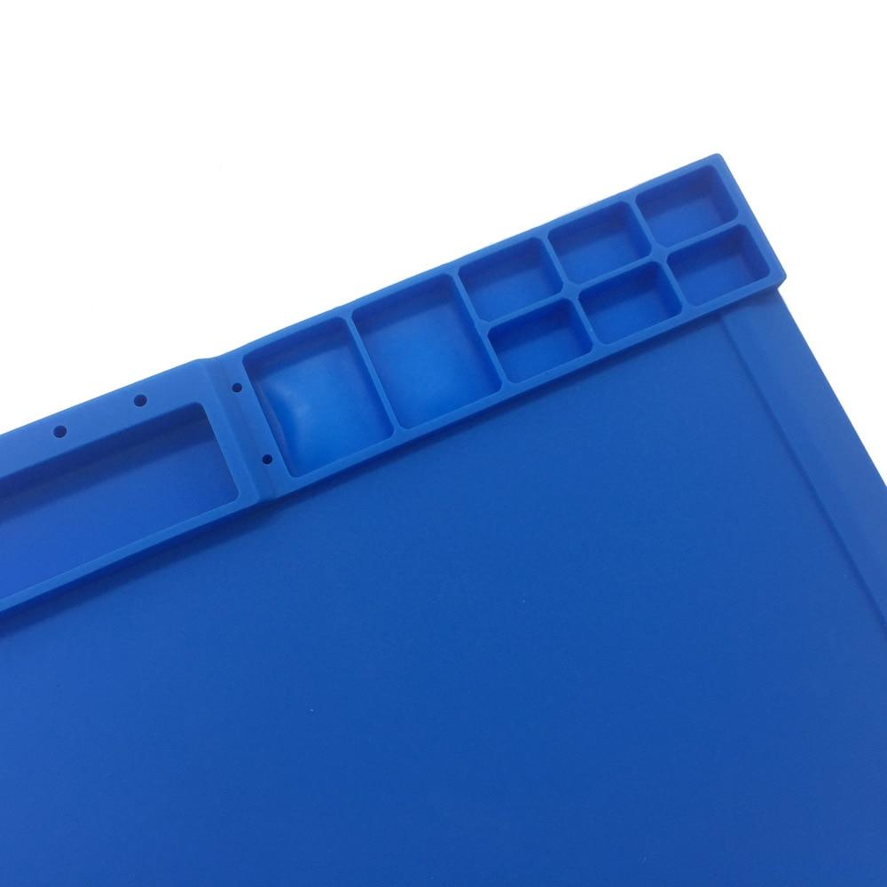 Più nuovo 38x21cm 3 colori Tappetino per vite in silicone ambientale - Set di attrezzi - Fotografia 5