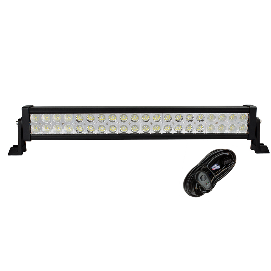 weketory 22 Inch 120W LED Light Bar for Work Driving Boat Car Truck 4x4 SUV ATV Off Road Fog Lamp Spot Flood Beam with Wiring costume ancient chinese princess or empress cap hair accessory bride wedding hair tiaras hair coronet