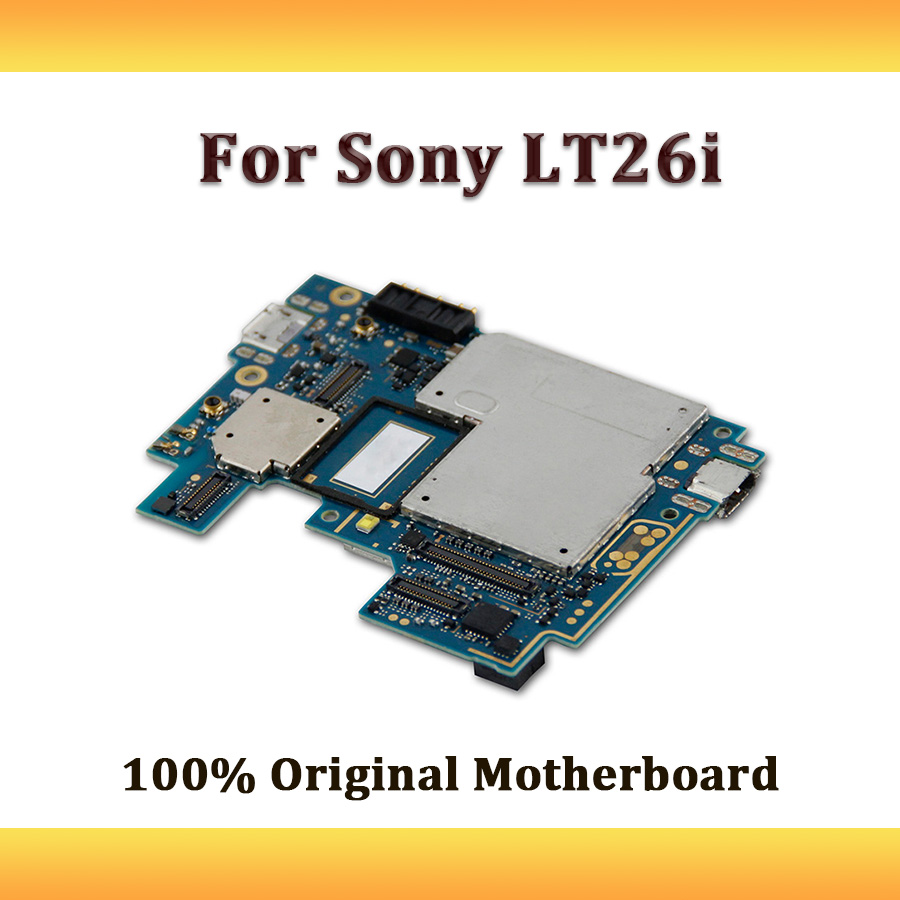 Original Unlocked Motherboard Full Working For Sony Xperia S