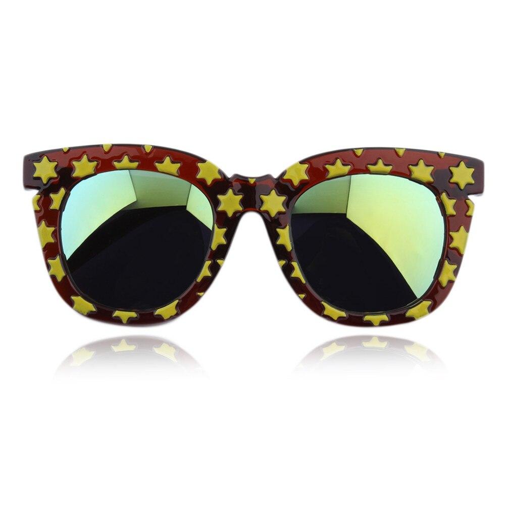 Bintang Tebal Frame Kacamata Fashion Wanita Kucing Mata Kacamata ... 3c60577c1a