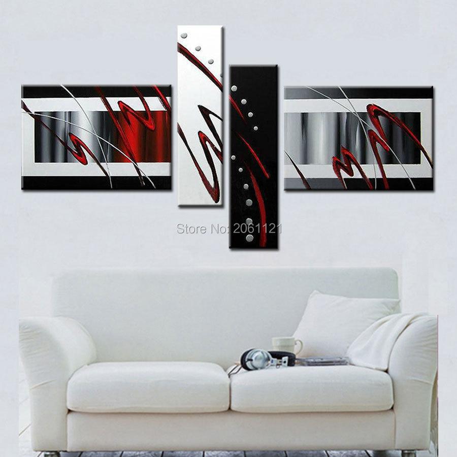 Online Kaufen Großhandel malerei schwarz weiß aus China ...