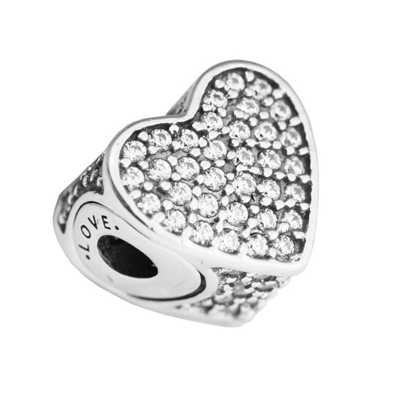 Fits for Pandora Essence Bracelets Love Charms 100% 925 Sterling-Silver-Jewelry Beads Free Shipping Fits for Pandora Essence Bracelets Love Charms 100% 925 Sterling-Silver-Jewelry Beads Free Shipping