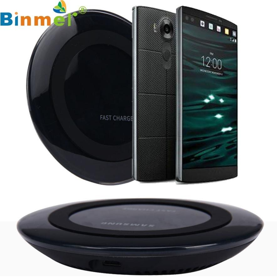 Top Quality Hot Sale Qi Wireless <font><b>Charger</b></font> Charging Pad for <font><b>LG</b></font> <font><b>V10</b></font> G4 G3 Nexus 4 5 7 Other Qi <font><b>Phone</b></font> MAY 27