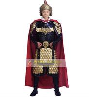 Ancient chinese costume Chinese armor General acting