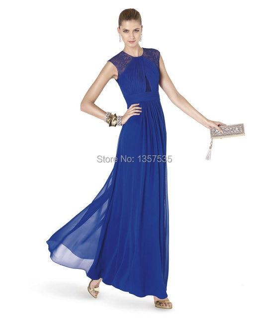 New Arrival 2014 Lace Evening Gown for Rent Sashes Vestido De Festa ...