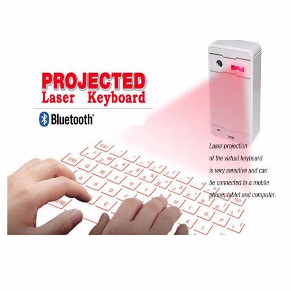 1 Stück Tragbare Drahtlose Bluetooth Schutz Laster Virtuelle Mini Tastatur Für Home & Office & Computer & Tablet Computer & Spiel