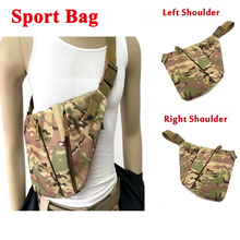 Left / Right Shoulder Concealed Tactical Storage Gun Bag Men Anti-theft Multifunctional Chest Sport Small