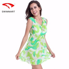 Comfortable and breathable soft skin-friendly lady beach skirt new high-grade high-elastic mesh SWIMMART