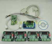 Free Shipping CNC 4 Axis TB6560 Stepper Motor Driver Controller Board Kit Nema 23 Two Phase