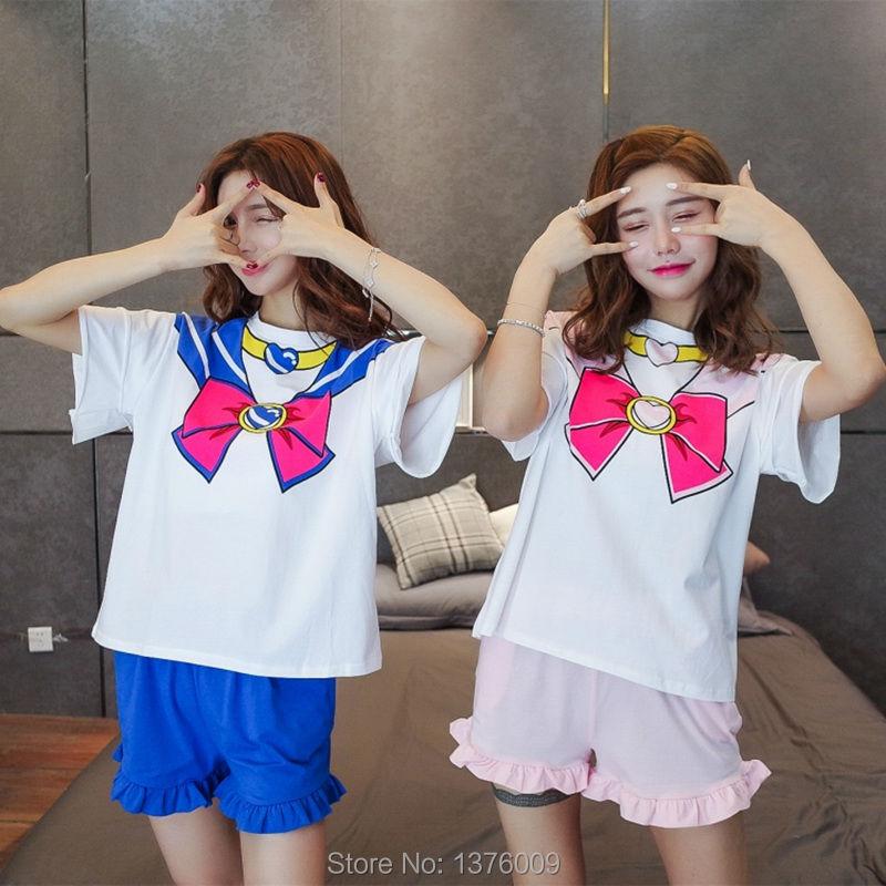 Sailor Moon Cosplay T-shirt T-shirt Անիմե Chibimoon - Կարնավալային հագուստները - Լուսանկար 4