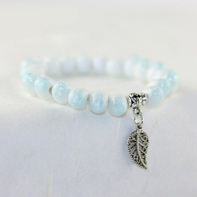 Beads Bracelet Women Leaves...