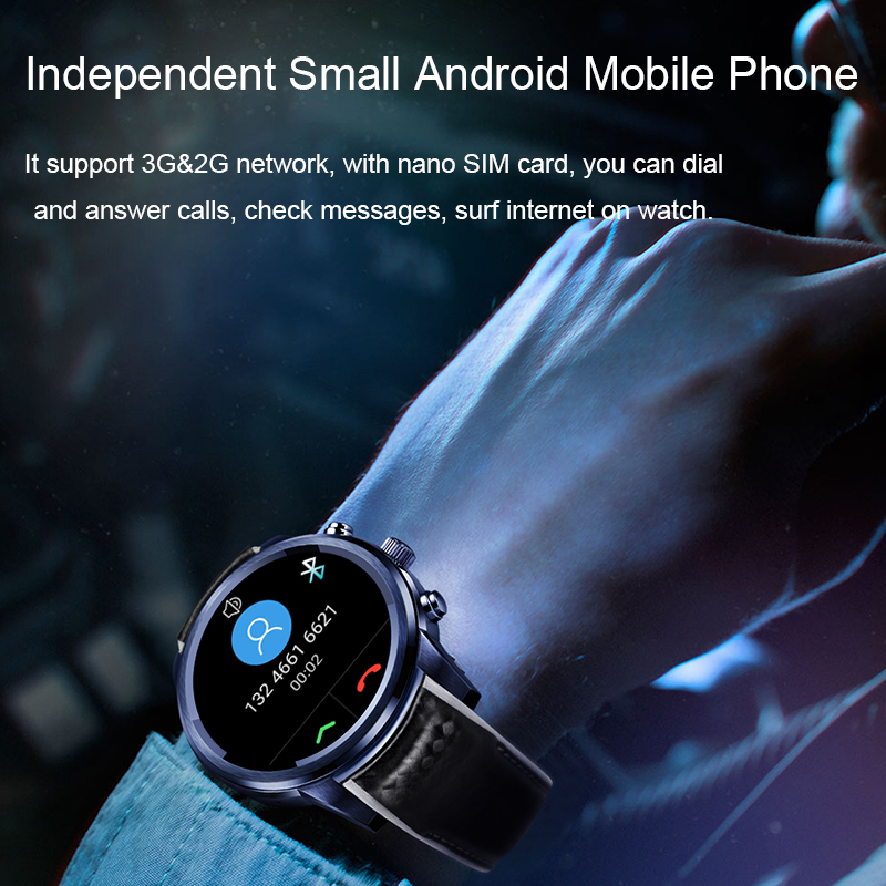 lemfo lem5 pro android smart watch for men and women 2gb + 16gb with gps wifi and bluetooth