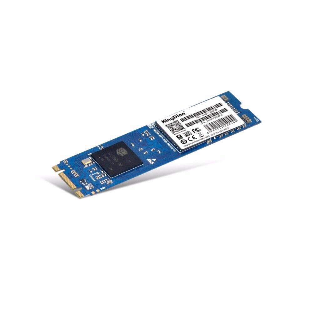 (N480-120GB) kingDian Disque SSD interne Disque Dur Ultra Mince Améliorer M.2 22*80 NGFF 120 gb 128g SSD disque