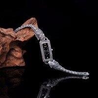 Новое поступление ограниченное классический S925 Серебряные ювелирные изделия сатиновая юбка американка часы чистого тайский серебряный бр