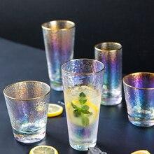 Радуга ослепительный молоток шаблон стеклянная чашка, Пномпень покрытие бокал для вина es напиток чай чашка бутылка для воды бытовой пивной стакан